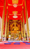 Beautiful Buddha image in Thailand Royalty Free Stock Photography
