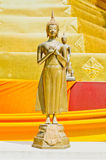 Beautiful Buddha image in Thailand Stock Images
