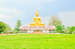 Beautiful Buddha image in Thailand Stock Photography