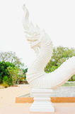 Beautiful King of Nagas image in Thailand Stock Photo