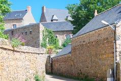 Beautifuly老村庄在法国 库存图片