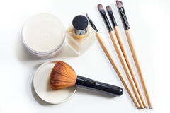 Beautify  and cosmetics. Isolate object on white background Royalty Free Stock Images