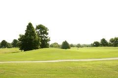 Beautigul Golf green grass sport fields Royalty Free Stock Images