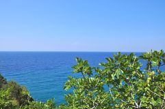 Beautiuful scenery of Aegean sea royalty free stock photography