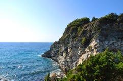 Beautiuful scenery of Aegean sea Stock Photo