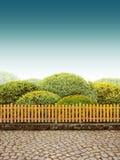 Beautiul Garten Lizenzfreies Stockfoto
