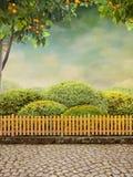 Beautiul trädgård Arkivfoto