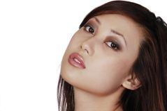 Beautuful Asian woman Royalty Free Stock Photos