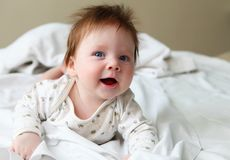 Beautuful redhair infant Royalty Free Stock Image