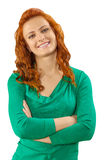 Beautuful redhead girl Royalty Free Stock Photo