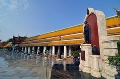 Beautuful ważności ludzka rzeźba w wacie tajlandzkim Zdjęcie Stock