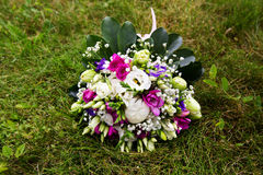 Beautuful wedding bouquet Royalty Free Stock Images