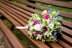 Beautuful wedding bouquet Royalty Free Stock Photos