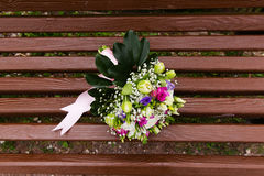 Beautuful wedding bouquet Stock Photography