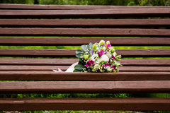 Beautuful wedding bouquet Stock Images