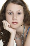 Beauty 13. A portrait of a young female model Stock Images