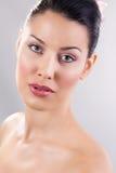 Beauty. Spa portrait of a beautiful woman stock photos
