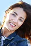 Beauty. Beautiful woman smiling Royalty Free Stock Photography