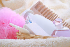 Beauty accessories Royalty Free Stock Photos