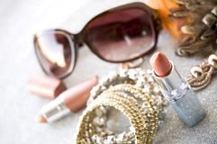 Beauty accessories Stock Photography