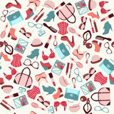 Beauty and accessories  background  - Illustration Stock Photos