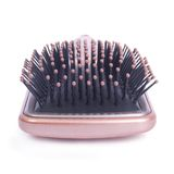 Beauty accessories - hairbrush closeup Royalty Free Stock Photos