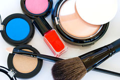 Beauty Accessories Stock Photo