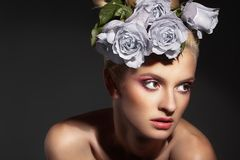Free Beauty And Roses Stock Photos - 18692163