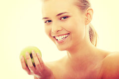 Beauty apple Stock Image