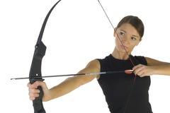 Beauty archer Royalty Free Stock Photos