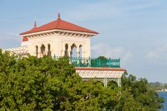 Beauty architecture house in cienfuegos. Cuba Stock Image