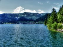 Beauty around lake. In nature Royalty Free Stock Photo