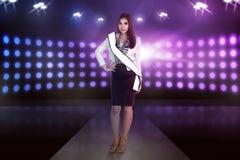 Beauty asian model woman pose royalty free stock image