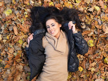 Beauty during autumn Stock Images