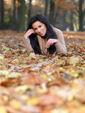 Beauty during autumn Stock Photos