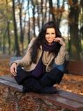 Beauty during autumn Stock Photos