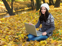 Beauty during autumn Stock Photography