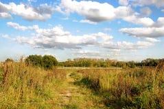 Beauty autumn landscape Stock Image