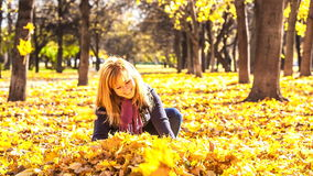 Beauty during autumn Stock Photo