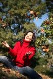 Beauty autumn series Stock Photo