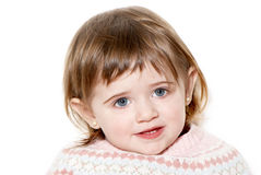 Beauty baby face Royalty Free Stock Image