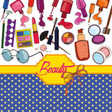 Beauty background Stock Images
