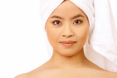 Beauty After Bath royalty free stock photography