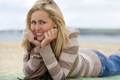 Beauty At The Beach Royalty Free Stock Photography