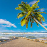 Beauty beach on daylight Royalty Free Stock Image
