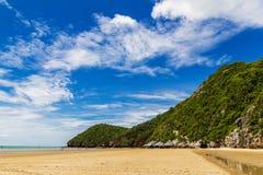 Beauty beach on daylight summer Stock Photo