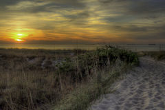 Beauty Beyond the Dunes Royalty Free Stock Photography