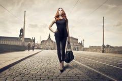 Beauty in Black Royalty Free Stock Photos