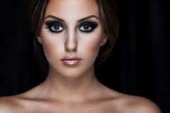 Beauty on black Royalty Free Stock Image