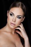 Beauty on black Royalty Free Stock Photos